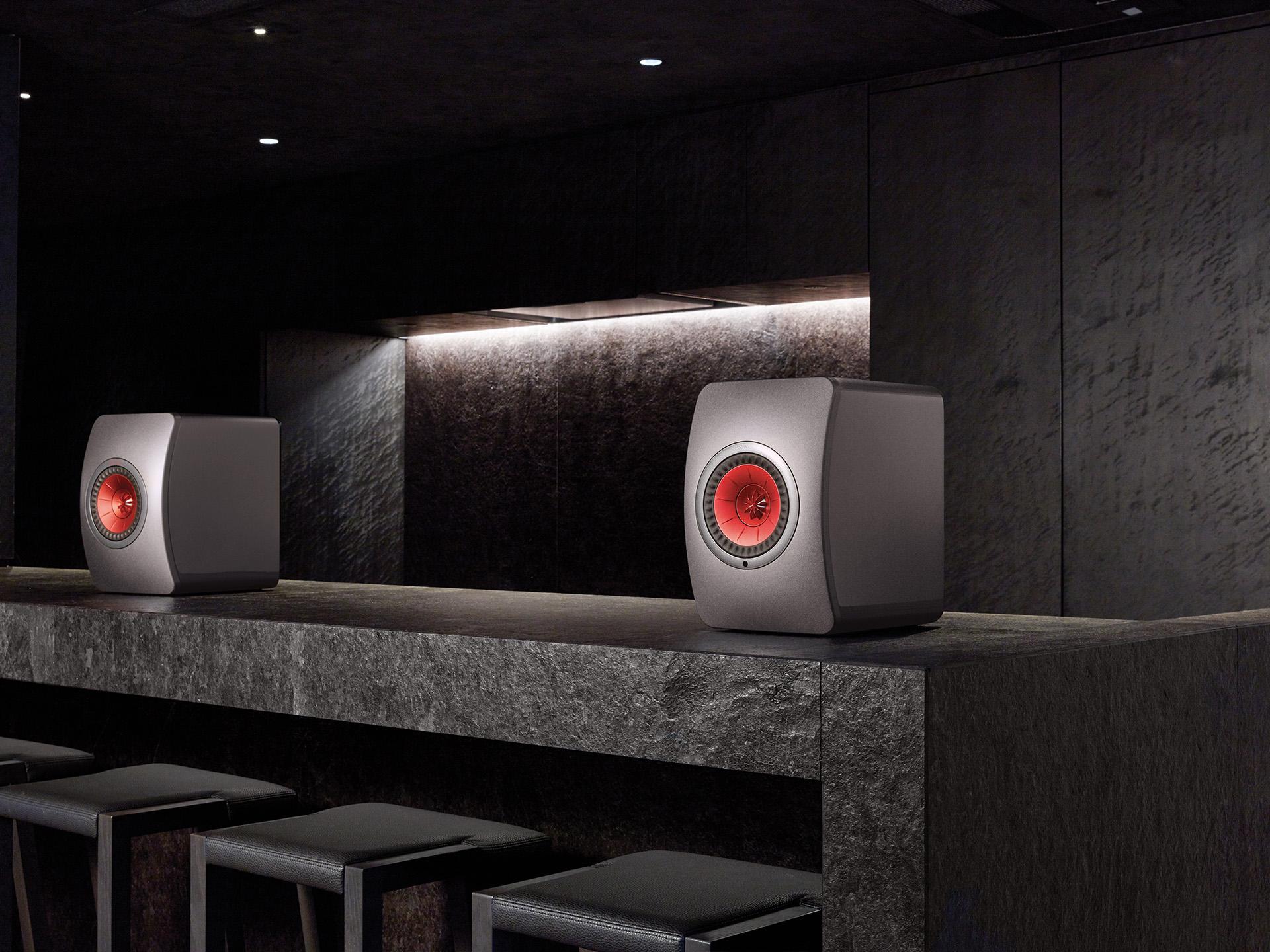 KEF LS50 Speakers Sound Demo, Rock - YouTube