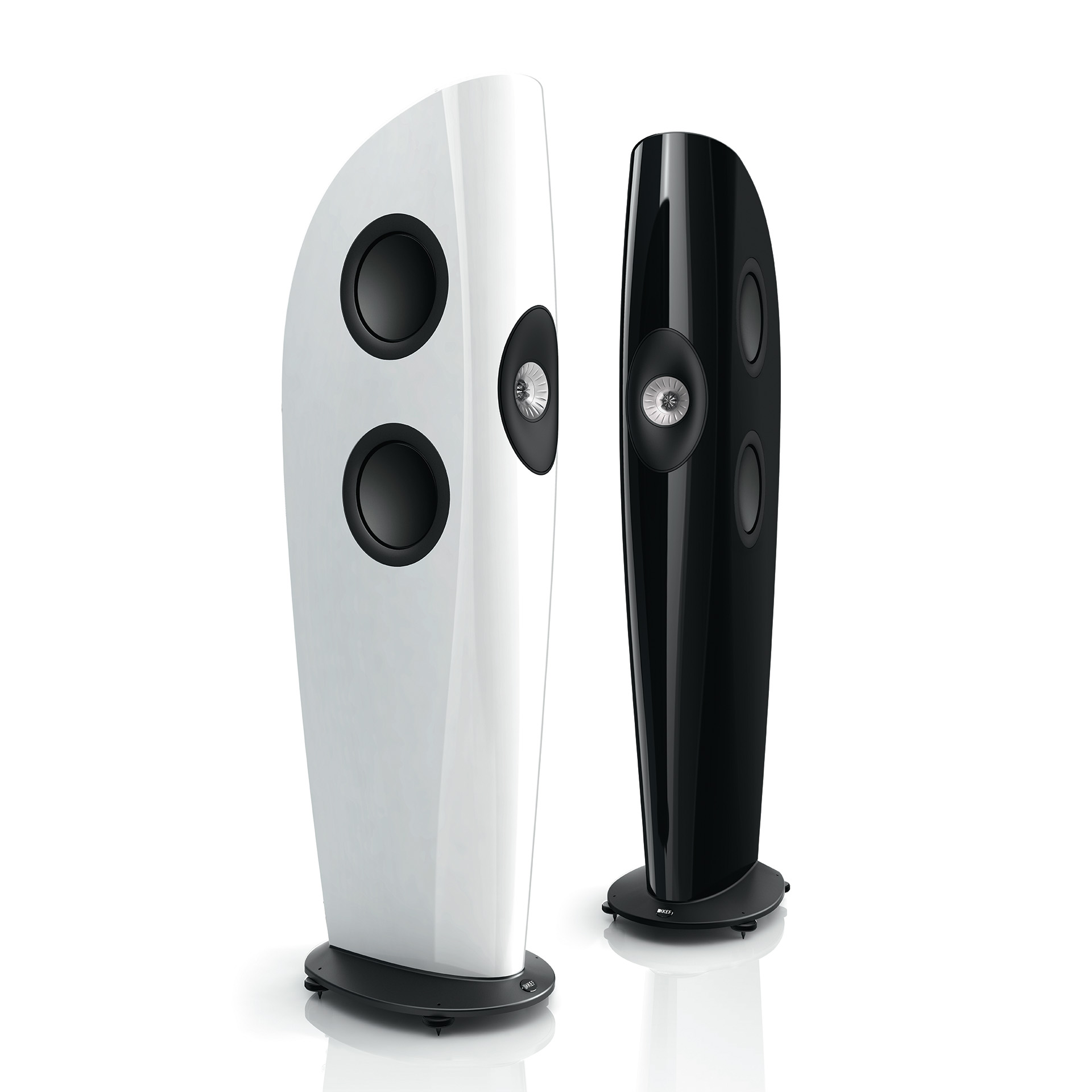 KEF Blade - White - Black - Chattelin Audio Systems