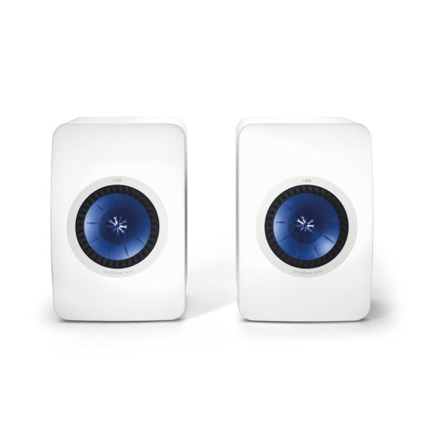 KEF LS50 - High Gloss Piano White - Chattelin Audio Systems
