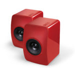 KEF LS50 - Racing Red - Chattelin Audio Systems