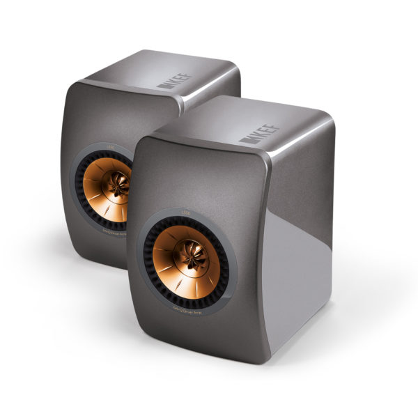 KEF LS50 - Titanium Grey - Chattelin Audio Systems