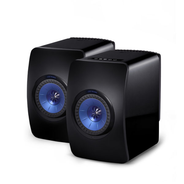 KEF LS50 Wireless - High Gloss Piano Black - Chattelin Audio Systems