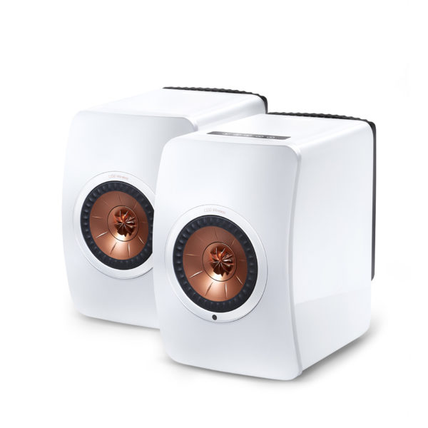 KEF LS50 Wireless - High Gloss Piano White - Chattelin Audio Systems