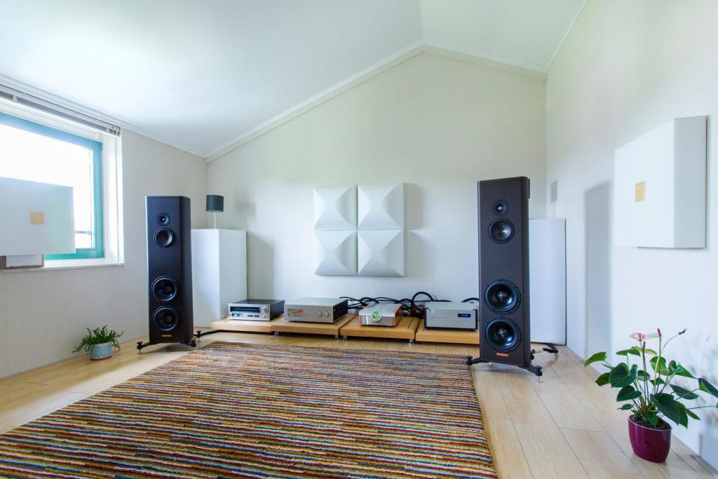 Het systeem van Benno - Chattelin Audio Systems - Magico - Soulution - Dan Dagostino - MIT