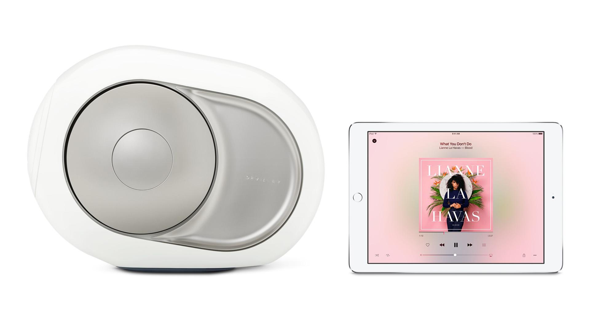 Devialet Silver Phantom en Apple iPad - Chattelin Audio Systems