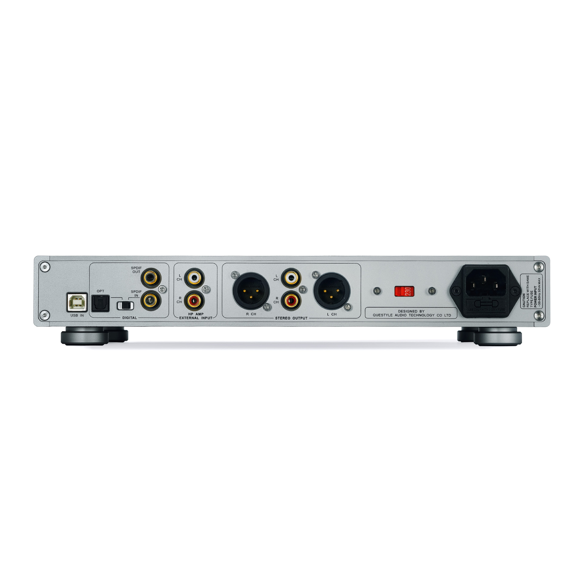 Questyle CMA600i Silver - Chattelin System Audio