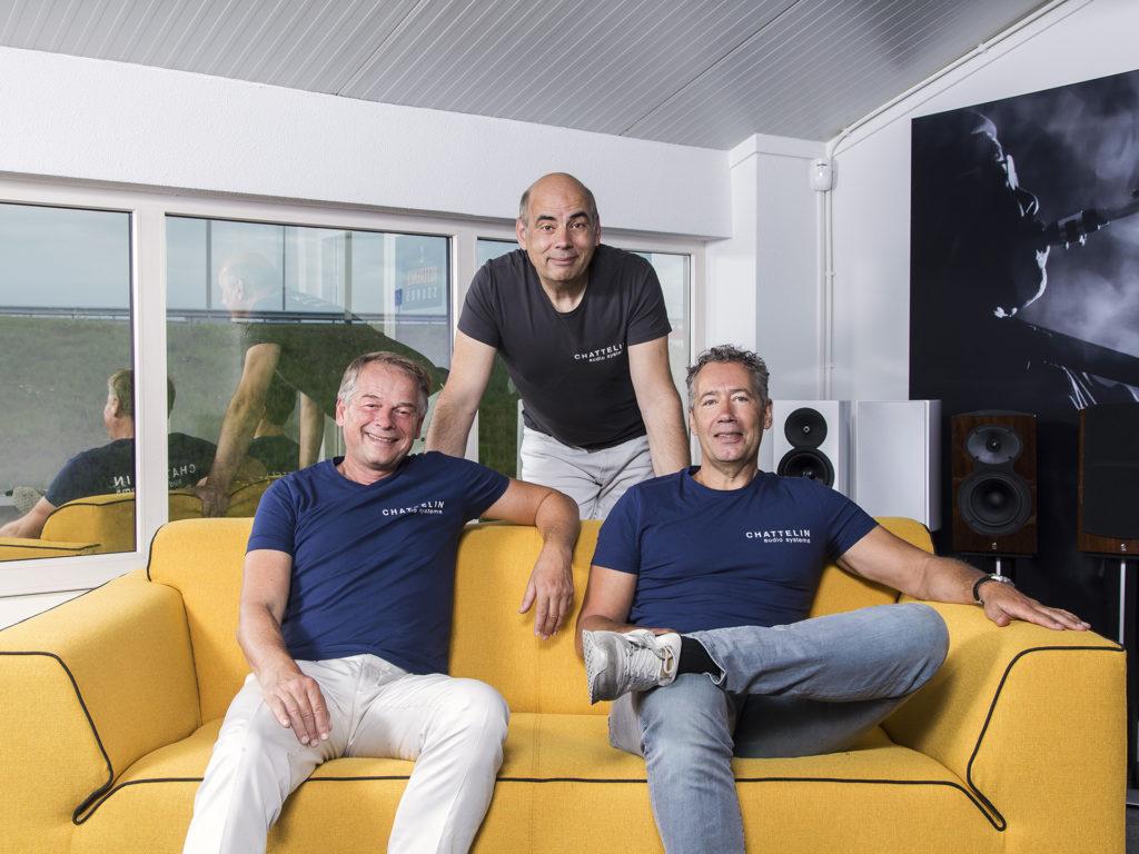 Chattelin Team - Chattelin Audio Systems