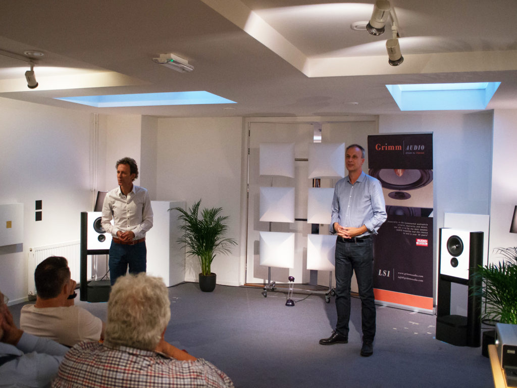 Show Grimm Audio LS1a - Eelco Grimm & Guido Tent - Chattelin Audio Systems