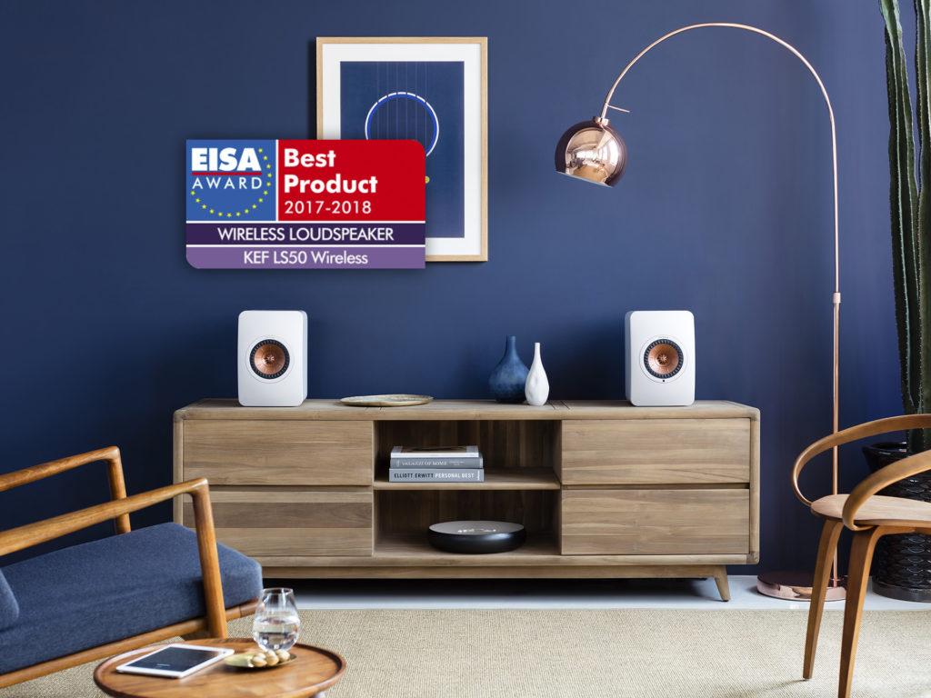 KEF LS50 Wireless EISA AWARD - Chattelin Audio Systems