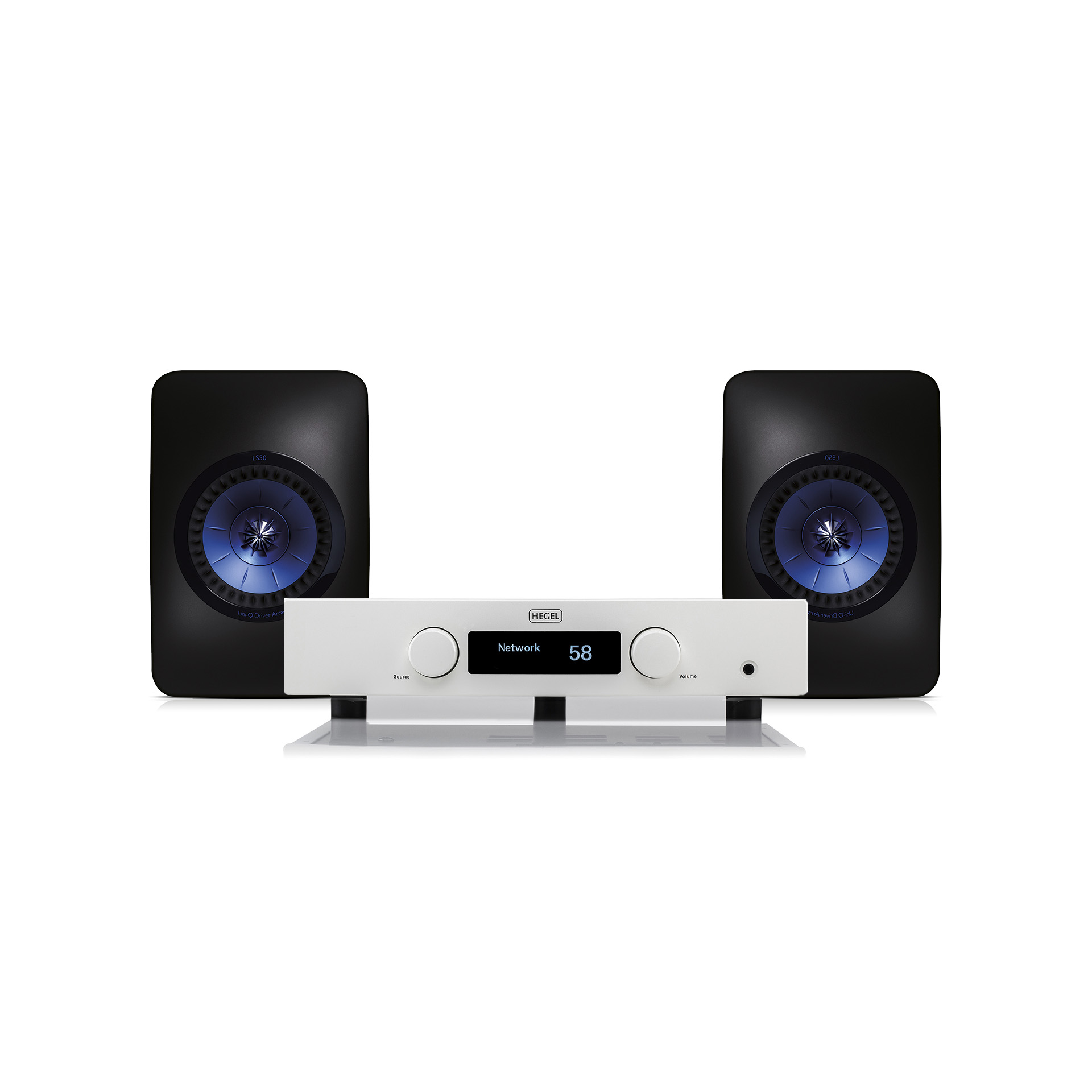 KEF LS50 en Hegel Rost superset - Chattelin Audio Systems