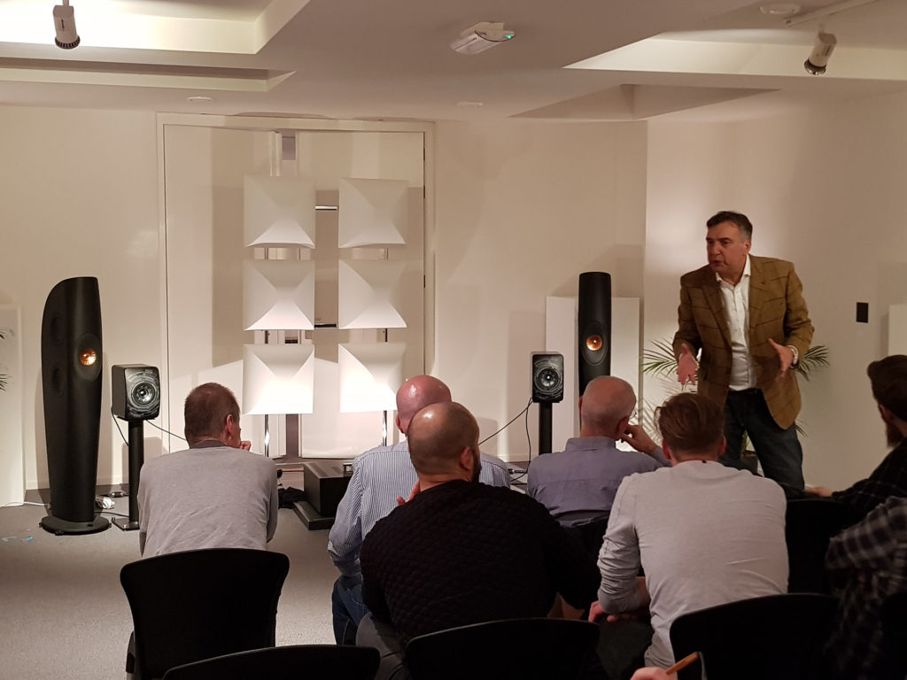 An Evening With Johan Coorg - Chattelin Audio Systems