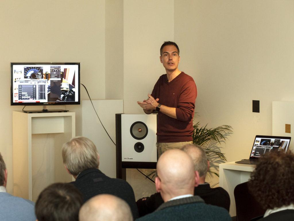 Sander van der Heide - Master of Sound - Chattelin Audio Systems